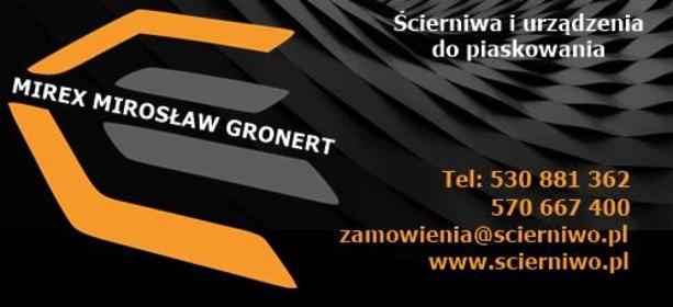 MIREX Mirosław Gronert - Maszyny budowlane różne Kościelec