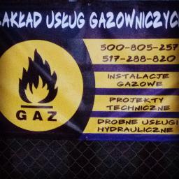 ZAKŁAD USŁUG GAZOWNICZYCH - Instalacje gazowe Poświętne