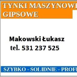 Makowski Łukasz Tynki Gipsowe - Firma remontowa Strzelin