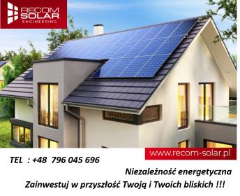 Recom Solar Engineering - Zaopatrzenie w energię elektryczną Chrzanów