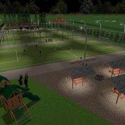 Wykonujemy profesjonalne wizualizacje dowolnych terenów z symulacją środowiska i animacją postaci.