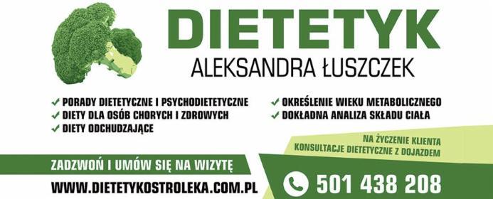 Dietetyk Aleksandra Łuszczek - Odchudzanie Olszewo-Borki