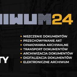 Archiwum24 Sp. z o.o. - Niszczenie dokumentów Gdańsk