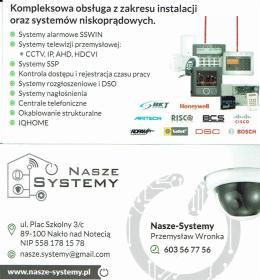 NASZE-SYSTEMY PRZEMYSŁAW WRONKA - Ogniwa Fotowoltaiczne Nakło nad Notecią