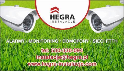 HEGRA Instalacje - Instalatorstwo telekomunikacyjne Bydgoszcz