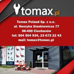 """Krzysztof Pątkowski"""" TOMAX"""" Hurtownia Elektronarzędzi. - Narzędzia i warsztat Ciechanów"""