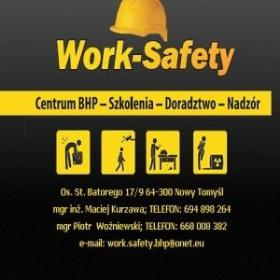 Work Safety Centrum BHP - Wstępne Szkolenie BHP Nowy Tomyśl