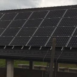 Instalacja fotowoltaiczna o mocy 8,7 kWp PERC