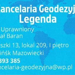 Kancelaria Geodezyjna Legenda Geodeta Uprawniony inż. Michał Baran - Geodeta Mińsk Mazowiecki