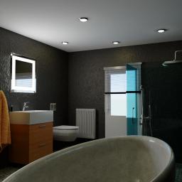 Realizacja wizualizacji łazienki dla klienta indywidualnego