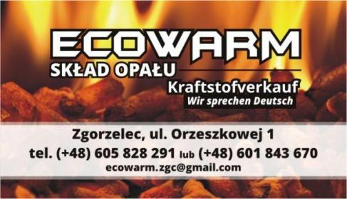 Skład Opału Ecowarm - Ekogroszek Zgorzelec