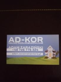 AD-KOR Adam Zaraziński Usługi ogólnobudowlane - Firma remontowa Złotoryja
