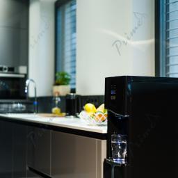 Elegancki dystrybutor z wodą gazowaną - woda do domu i firmy Prime Elegance Soda