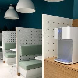 Nablatowy dystrybutor z wodą gazowaną i lampą UV - woda do firmy Prime Elegance UV