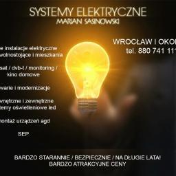 Systemy Elektryczne - Montaż Anteny Wrocław
