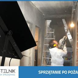 Kastelnik - Sprzątanie po pożarze, czyszczenie i ozonowanie. Usuwanie szkód pożarowych. - Sprzątanie biur Katowice