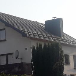Dachy kryte blachą ( model Tysenia - Firma Blachotrapez)