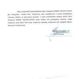 Tłumaczenia dokumentów Siemianowice Śląskie 4