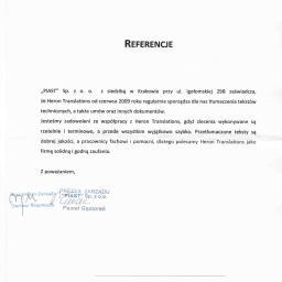 Tłumaczenia dokumentów Siemianowice Śląskie 5