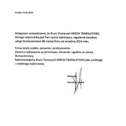 Tłumaczenia dokumentów Siemianowice Śląskie 7