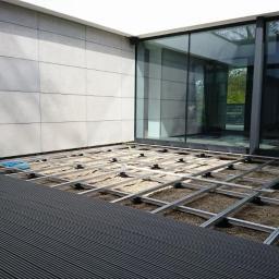 Tarasy kompozytowe na konstrukcji aluminium