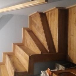 Schody drewniane Michałów 7