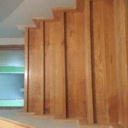 Schody drewniane Michałów 6