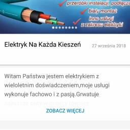 Elektryk Na Każda Kieszeń - Elektryk Bobowo