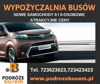 Podrozebusem.pl - Wypożyczalnia samochodów Grudziądz