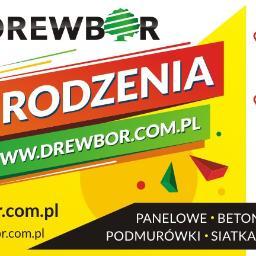 DREWBOR RAFAŁ BORAWIAK - Siatka ogrodzeniowa Raniżów