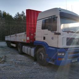 Transport ciężarowy krajowy Skoki 1