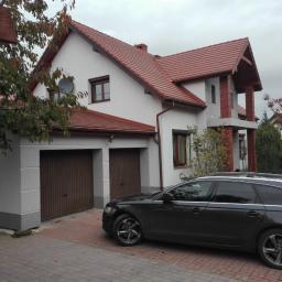 Wykonanie elewacji domku jednorodzinnego z boniowaniem