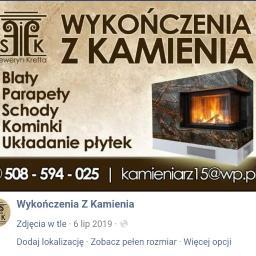 Wykończenia z Kamienia - Parapety kamienne Przodkowo