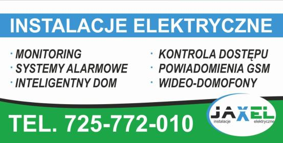 Firma usługowa Jacek Chowaniec - Elektryk Bukowina Tatrzańska