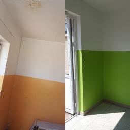 Podwieszanie sufitu,obróbka drzwi,szpachlowanie,malowanie lamperii,wymiana cokołów