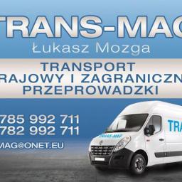 TRANS-MAG ŁUKASZ MOZGA - Przeprowadzki Szczecin