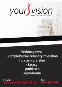 YourVision - Zabudowa balkonu Szczecin