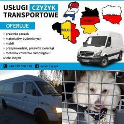 Uslugi Transportowe Czyżyk - Firma transportowa Malbork