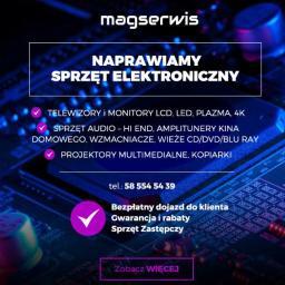 Magserwis tv audio projektory - Serwis RTV Gdańsk