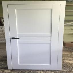 Drzwi sosnowe wewnętrzne bezprzylgowe zawiasy chowane