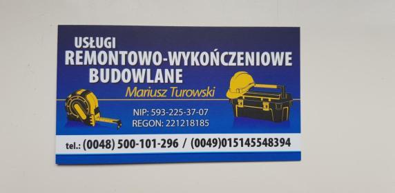 Usługi Remontowo Wykończeniowe - Gładzie Tczew