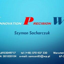 Innovation Precision Welding Szymon Sacharczuk - Usługi Budowlane Kotla