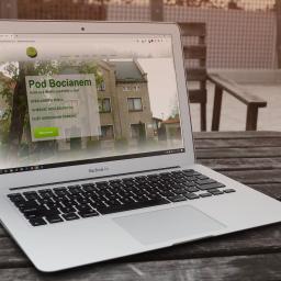 Strona www dla firmy agroturystycznej oferującej wczasy na wsi: http://podbocianem.nysa.pl/