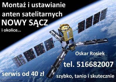 SAT SERWIS - Montaż Anteny Nowy Sącz