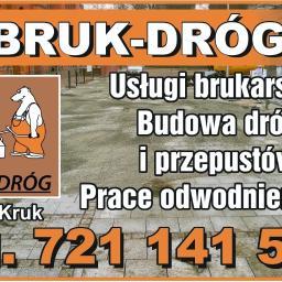BRUK-DRÓG Piotr Kruk - Budowa dróg Klimy