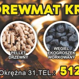 Drewmat Drewno Opałowe Handel-Usługi Mateusz Nowak - Ekogroszek Krzykosy