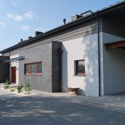Nowoczeszny dom pod Łodzią
