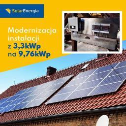 Modernizacja na 9,76 kWp