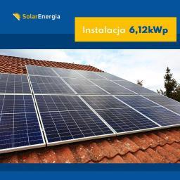 Instalacja 6,12 kWp