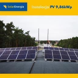 Instalacja PV 9,86 kWp